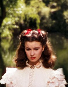 Vivien Leigh as Scarlett O'Hara in Gone With the Wind, 1939 Vivien Leigh, Scarlett O'hara, Old Movies, Great Movies, Classic Hollywood, Old Hollywood, Hollywood Stars, Divas, Tomorrow Is Another Day
