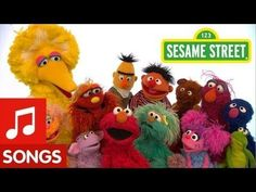 This is a very popular ABC song that connects the letters of the alphabet to words that young children are likely to know (e.g., Elmo! Grover!)  Sesame Street: Sing the Alphabet Song! - YouTube