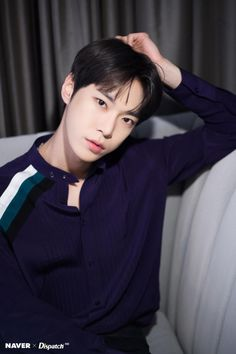 "Doyoung lights up L.A with sparkling eyes The NCT 127 boys sat up for a photoshoot with Dispatch before heading to one of the most popular talkshow on American TV ""The Late Show with James Corden"". K Pop, Jaehyun Nct, Capitol Records, Winwin, Taeyong, Kim Dong Young, Ntc Dream, Nct 127 Members, Tomy"