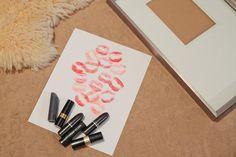 DIY Lipstick Print Valentine