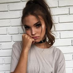 Beauty is when you can appreciate yourself. When you love yourself, that's when you're most beautiful. Tmblr Girl, Inka Williams, Beauty Makeup, Hair Beauty, Makeup Style, Foto Pose, Pretty Face, Pretty People, Makeup Inspiration