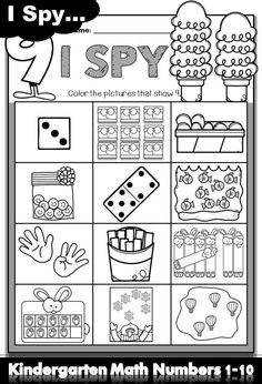 Looking for engaging resources to teach kindergarten numbers 1-10? This packet is excellent for number recognition and number sense practice. It is perfect for kindergarten classroom, distance learning and homeschool