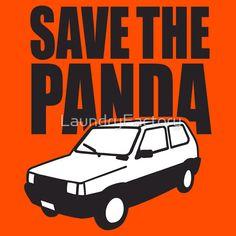 Sticker zum Thema Fiat Panda in hochwertiger Qualität von unabhängigen Künstlern und Designern au...