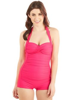 Be That as it Bouquet One-Piece Swimsuit in Punch