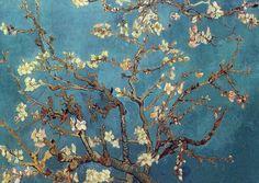 Amendoeiras em Flor, Vincent Van Gogh