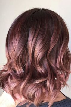 Chocolate Mauve - Gorgeous Hair Colors That Will Be Huge in 2017