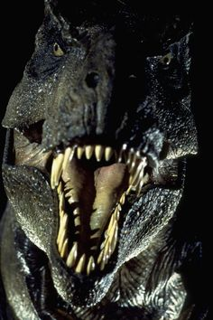 Imagine having that coming at you in these times... As much as I love dinosaurs and Jurassic Park, I don't think I would want to be living with the predators...