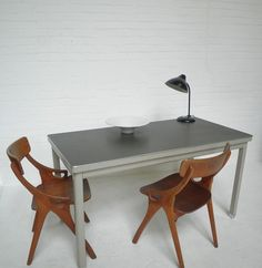 Inrichting on pinterest industrial table nordic style and craft ac - Tafel eetkamer industriele ...