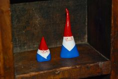 Mini Gnomes with air dry clay @ Eyeballs By Day Crafts By Night