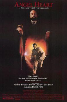 """Cartel película """"El corazón del angel"""" 1987"""