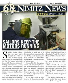 Nimitz News Daily Digest - Nov.  27, 2013