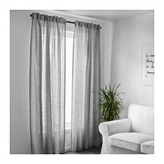 matilda sheer curtains 1 pair white ikea sheer. Black Bedroom Furniture Sets. Home Design Ideas