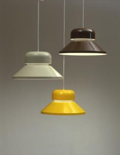 'Emma' (Orno 961-132) pendant lights designed by Heikki Turunen (Stockmann-Orno). Photo: Kalevi Hujanen, http://muistaja.fi/imageinfo.php?from=searchext&id=16412&prms=q%3Demma