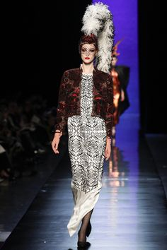 Jean Paul Gaultier Spring 2014 Couture - Review - Fashion Week - Runway, Fashion Shows and Collections - Vogue (love that hemline)