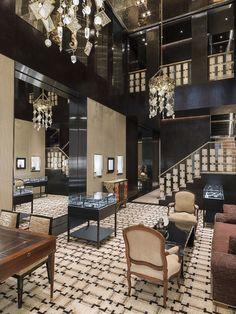 London's new Chanel Luxury boutique designed by Interior designer Peter Marino…
