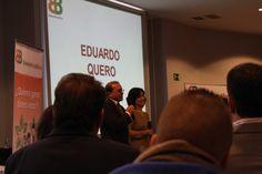 Eduardo Quero y Trini Bueno compartiendo su experiencia como Agentes Boca&Boca