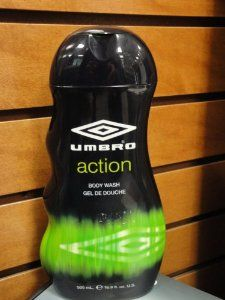 UMBRO ACTION SCENT BODY WASH (16.9 OZ) by Umbro. $6.29. Scented Body Wash. Umbro Action. 16.9 ounces. Umbro Action Scented Body Wash - 16.9 ounces