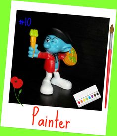 Painter Smurf