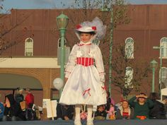 Mary Poppins costume made by Enchanted Kingdom Creations