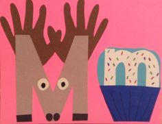 Letter mm study with if you give a moose a muffin kindergarten letters pinterest - Muffins fur kindergarten ...