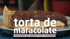 Torta de maracujá ou chocolate? Unimos as duas em uma receita só!