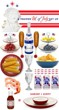 A Proper 4th via @Melissa Squires Squires Spivak. Lilien--I think 4th of July food might be my favorite. Yum.