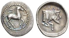An Exceptional Greek Silver Litra of Gela (Sicily)