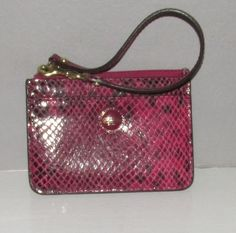 Coach Python Print Key Fob/ID/Card Holder. Starting at $15