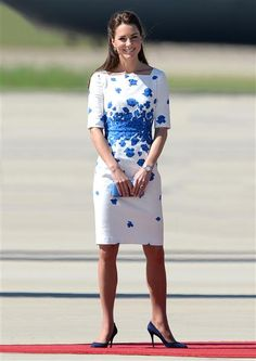 Duchess Kate during the royal tour of New Zealand and Australia in Brisbane, Australia, 19.04.2014