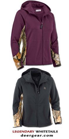 One of our most full zip featuring God's Country® Camo! Smooth finish poly features accents, handy zipper pull, extra slide pockets and embroidered Country Fashion, Country Outfits, Country Girls, Womens Hunting Clothes, Camo Clothes, Women Hunting, Camo Outfits, Casual Outfits, Textiles