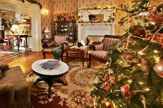 Victorian+Christmas+Decorations | Victorian Christmas Decorating