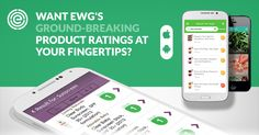 EWG's Healthy Living Apps