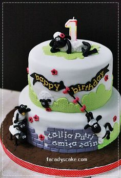 Shaun The Sheep For Callia  Where Everything Is Made With Love cakepins.com