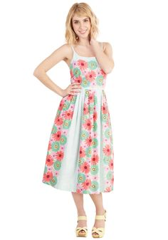 High Socie-tea Dress in Flower Box. Want a frock as refined as your sense of style? #multi #modcloth