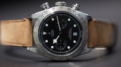 Tudor has just shared with us information sure to be of interest to not only Tudor fans, but also, intriguingly enough, Breitling fans as well: the new column-wheel chronograph caliber MT5813, featured in the new Black Bay Chronograph, is the result of a collaboration with Breitling, and is based on the Breitling B01 chronograph movement.