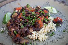 Cuban Black Beans & Rice Recipe |  Lori Danelle