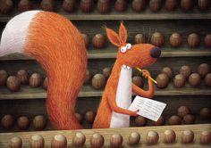 Piotr Socha Illustration Fox Illustration, Animal Books, Weird Pictures, Childrens Books, Fairy Tales, Concept Art, Portugal, Animation, Inspired