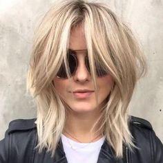 Striking Modern Shag Haircut