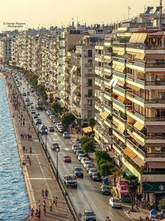 Thessaloniki, Macedonia, Times Square, Street View, Country, City, Travel, Beauty, Instagram