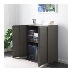"""IVAR Cabinet with doors  - IKEA Width: 31 1/2 """" (80 cm) Depth: 11 3/4 """" (30 cm) Height: 31 1/2 """" (80 cm) $80"""