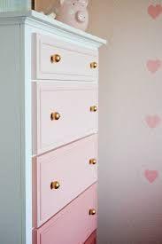 """Képtalálat a következőre: """"triangle painting onto a drawer cupboard pink"""""""