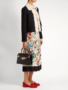 Click here to buy Gucci Lilith small bamboo-handle leather bag at MATCHESFASHION.COM