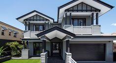 Hamptons home facade wtih Scyon Linea