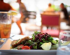 Join La Tour Restaurant and Bar for lunch. Serving daily from From entrée sandwiches and salads to small plates. Cheers to lunch in Vail. Chef Paul, Small Plates, Seaweed Salad, Restaurant Bar, Food Inspiration, Entrees, Vail Colorado, Tours, Lunch