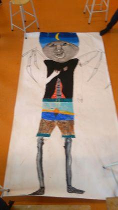 Dit is het lichaam van onze grote tekening.