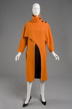 Coat  Yohji Yamamoto, late 1980s-early 1990s  The Philadelphia Museum of Art