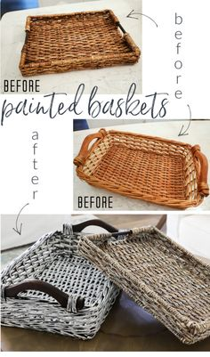 Thrift Store Outfits, Thrift Store Crafts, Thrift Stores, Thrift Store Finds, Furniture Makeover, Diy Furniture, Upcycled Furniture, Painting Wicker Furniture, Thrift Store Furniture