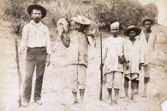 Caza el las cercanias de Puerto cabello, circa 1890