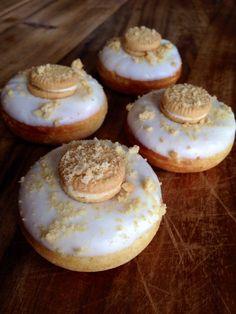 Golden Cookies & Cream mini donut by GreenMntMiniBaked on Etsy, $15.50
