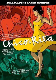 """""""Chico y Rita"""", de Fernando Trueba. Pasados los años, será vista como un clásico del género musical y de animación..."""